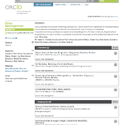 My ORCID ID