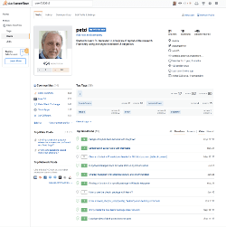 StackOverflow Profilpage of Peter Baumgartner